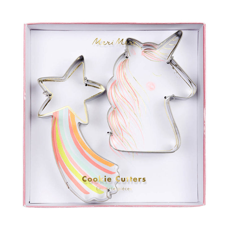 Unicorn & Star Cookie Cutter