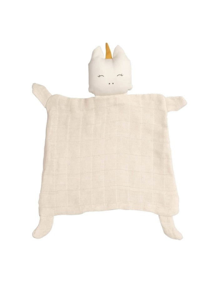 Organic Cotton Unicorn Comfort Security Blanket