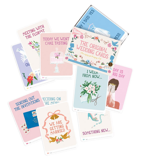 Milestone Cards Set of 30 - Wedding