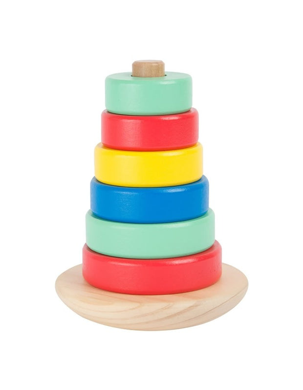 Wobbly Wooden Stacking Toy