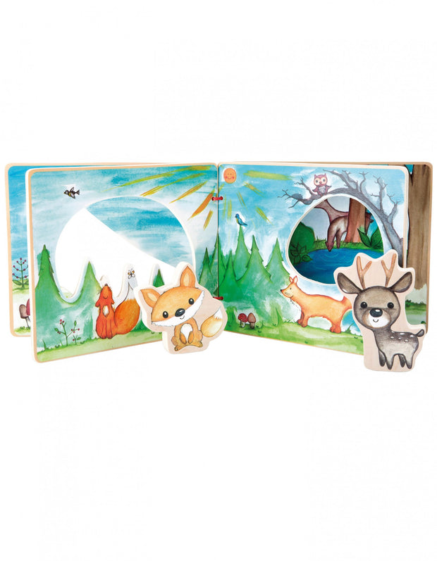 Baby's Woodland Interactive Book