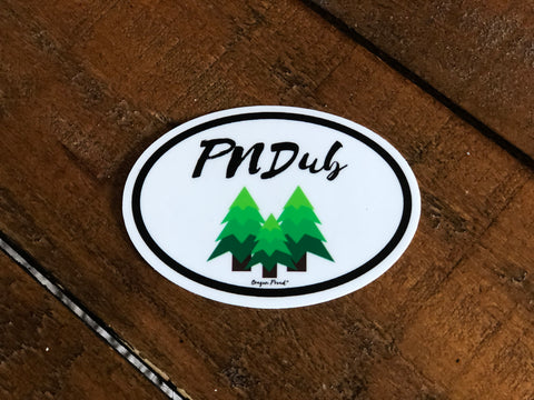 PNDub Oregon Proud Sticker