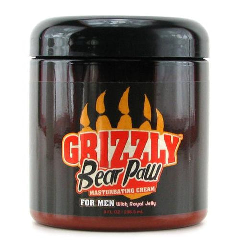 Grizzly Bear Paw Masturbating Cream 8oz