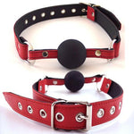 Rouge Ball Gag Red