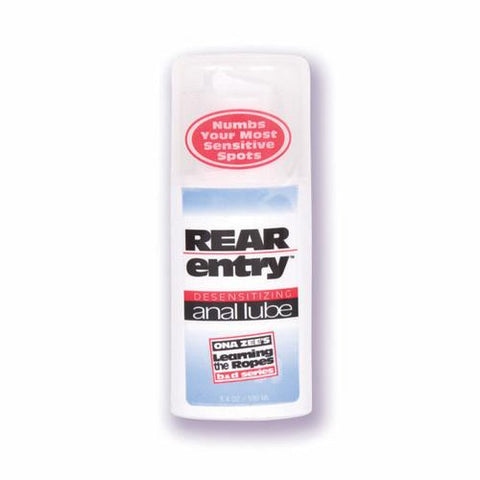 Ona Zees Rear Entry Anal Lube 3.4oz.