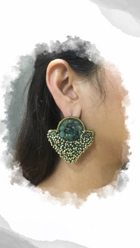 Green Lantern Earrings - URU THE STORE