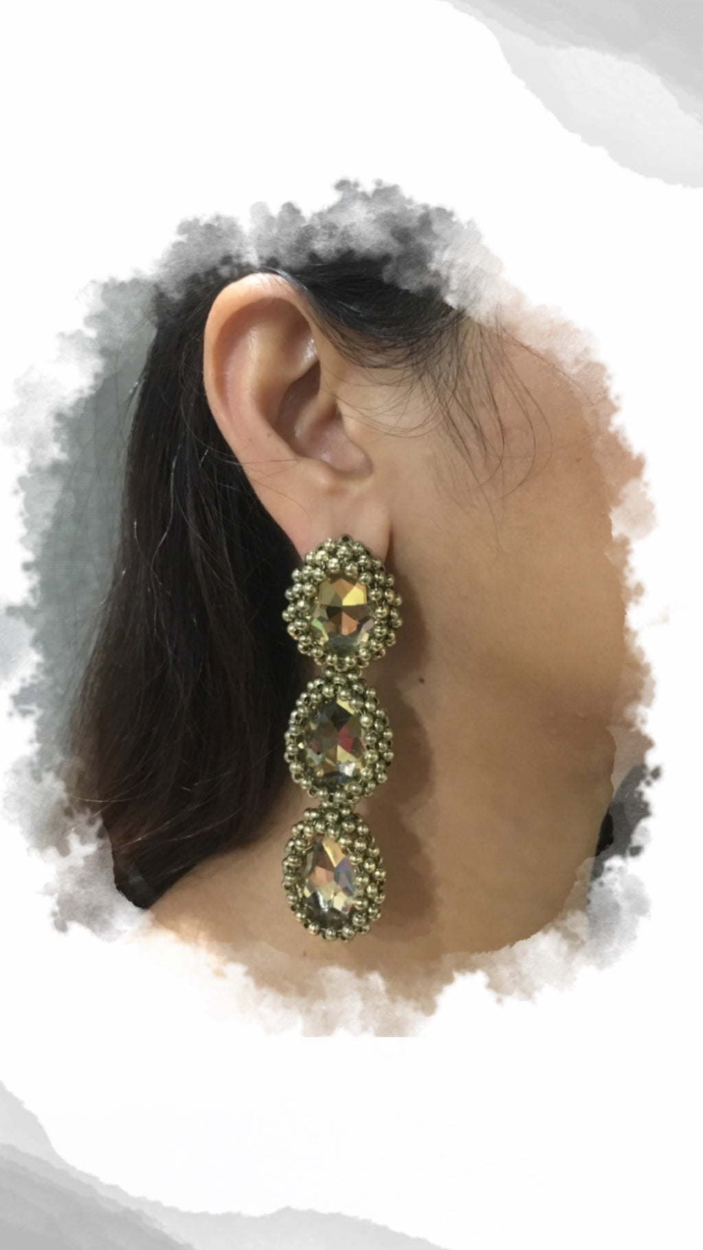 Trible Bauble Gold Earrings - URU THE STORE