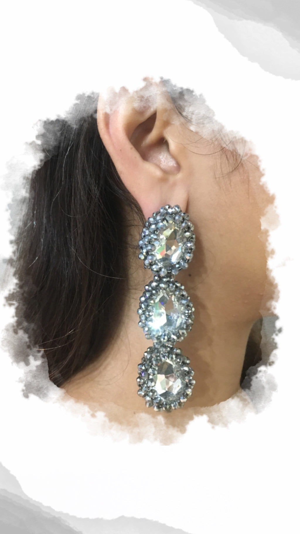 Trible Bauble Silver Earrings - URU THE STORE