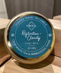 Aroma Therapy Travel Tins - Reflection & Clarity