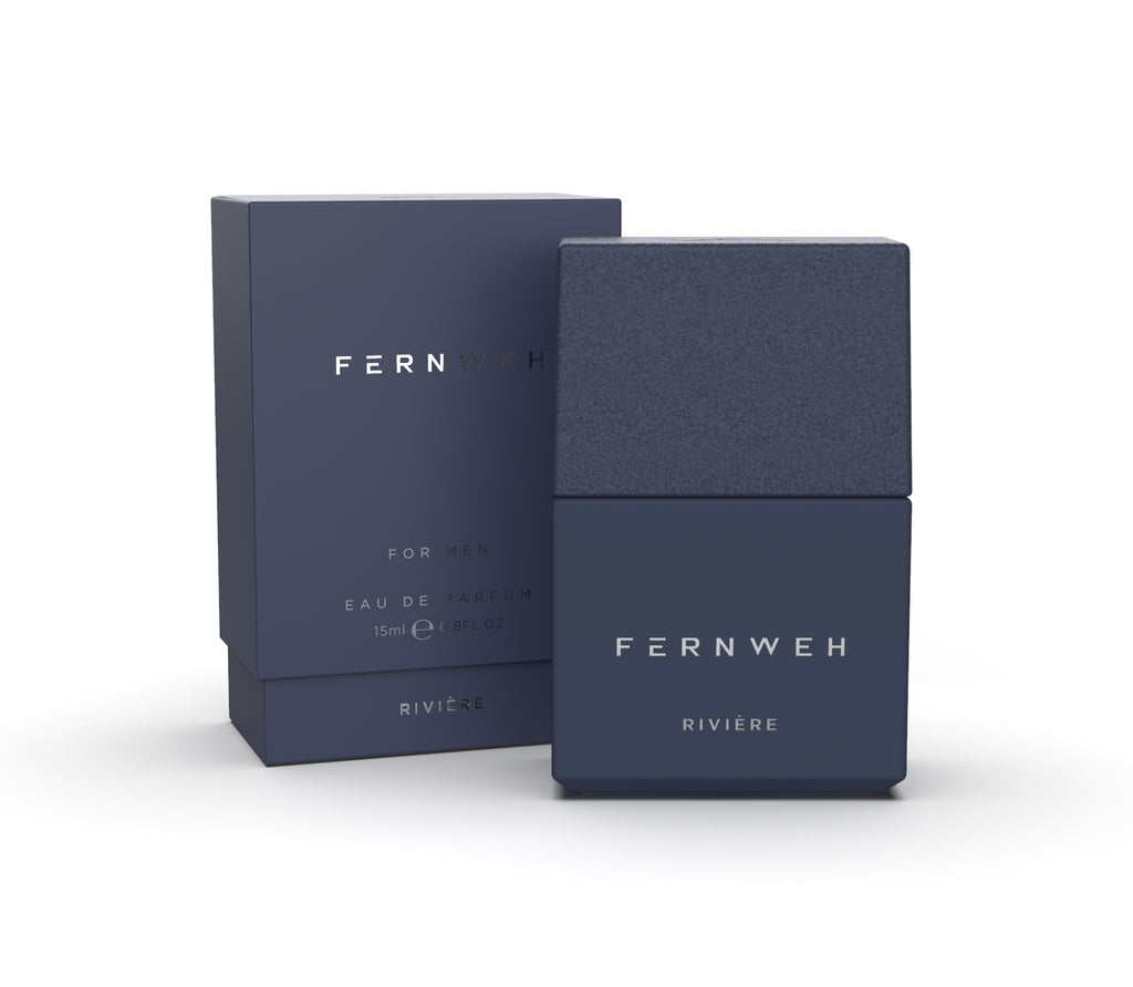 Fernweh Travel Perfume Rivière– edp for men, 15 ml