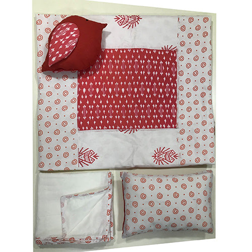 Tummy Time Mat Red