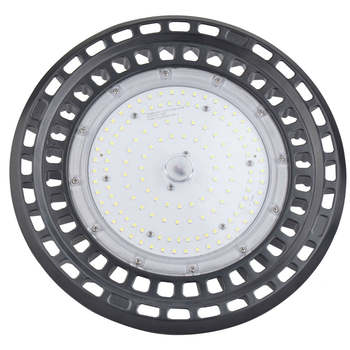 LED High Bay 150w 90/120 Beam angle-Hook Bracket-5000K Coolwhite