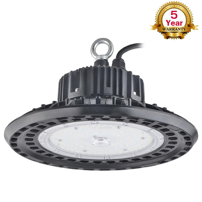 150 Watt UFO LED High Bay Lighting Fixtures 347/480VAC 5000K