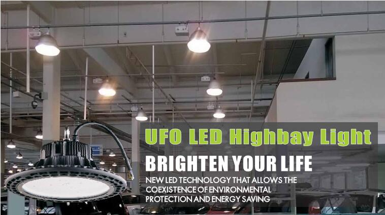 200W UFO LED High Bay Light-600W MH Equivalent-5000K-26,000 Lumens, Natural White