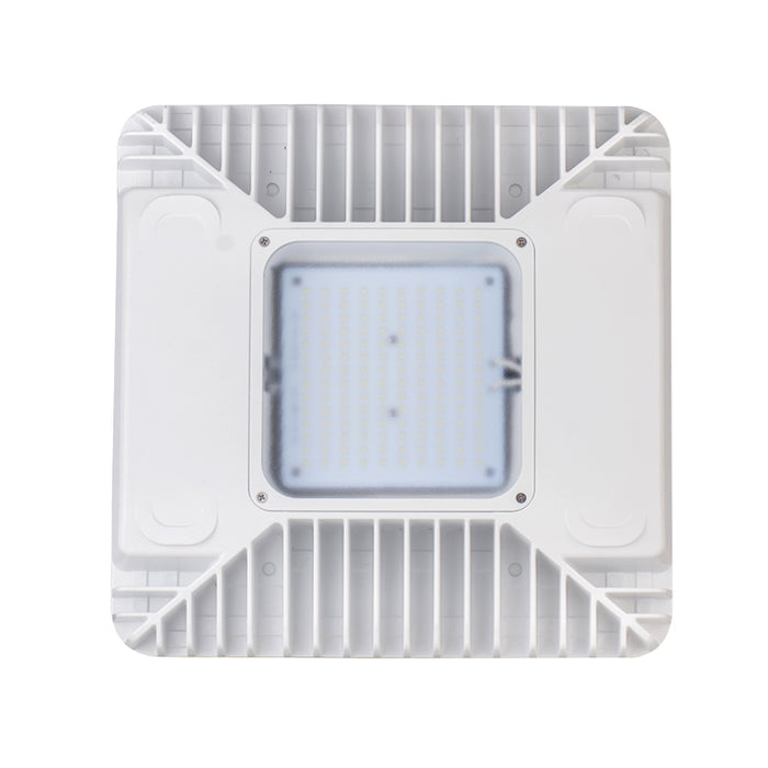 LED Gas Station Lights 130Watts 5000K 14300Lumens ETL DLC