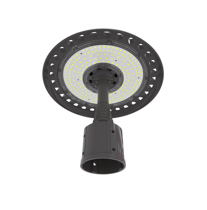 100 Watt LED Post Top Light Parking Lot 5000K 13000 Lumens
