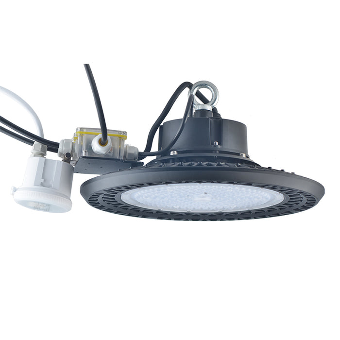 Super Bright 5000K LED UFO High Bay Light with Motion sensor