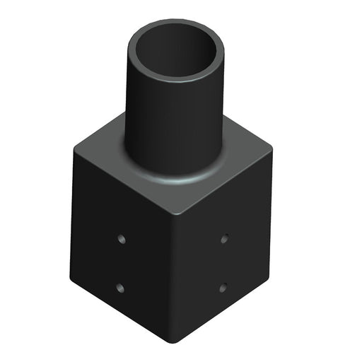 "3"" square Pole Adaptor For LED Post Top Light"