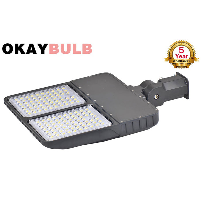 320 Watts LED Exterior Light Shoebox Fixtures 5000K