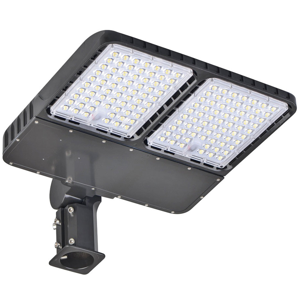 Outside Shoebox Light Fixtures 320 Watts 5000K