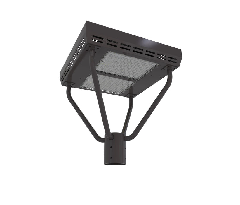 320W LED Area Post Top Fixtures 5000K 41600 Lumens