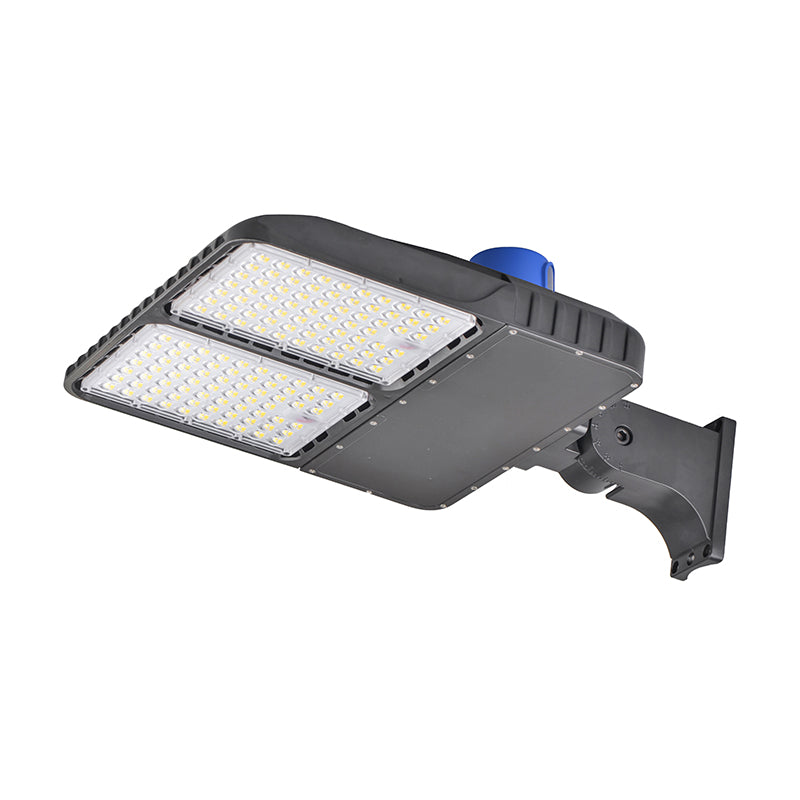 320W Shoebox Light Fixture With Photocell 5000K