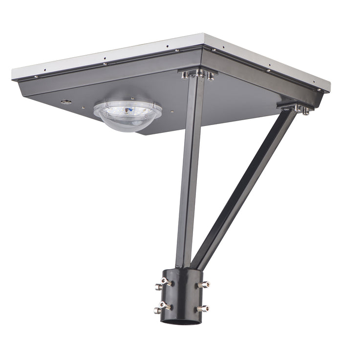 25 Watt Solar Post Landscape Lighting Fixtures 5000K