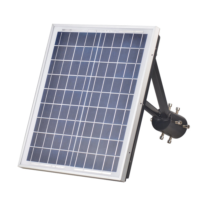 20W Solar Garden Post Light 5000K 3,000lm