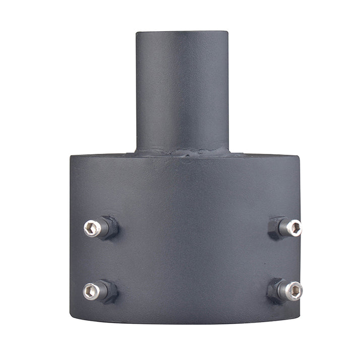 "6.5"" Round Pole Common Use Adaptor For LED Post Top Light"