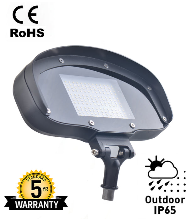 80 Watt LED Outdoor Flood Fixture-5000K -Knuckle Mount