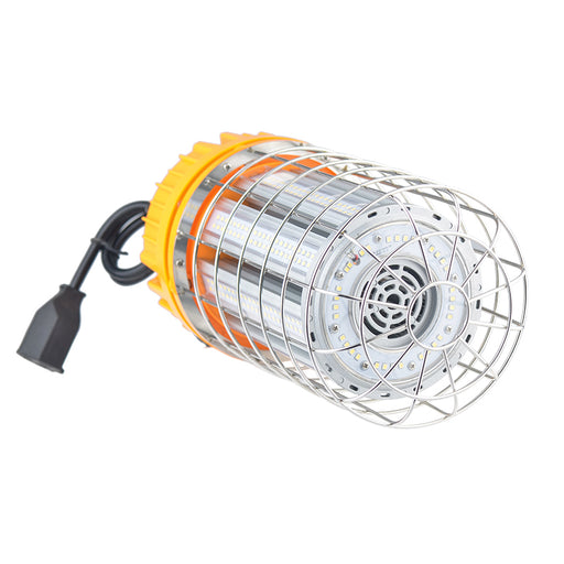 80W High Bay LED Temporary Work Light Fixture 10400LM