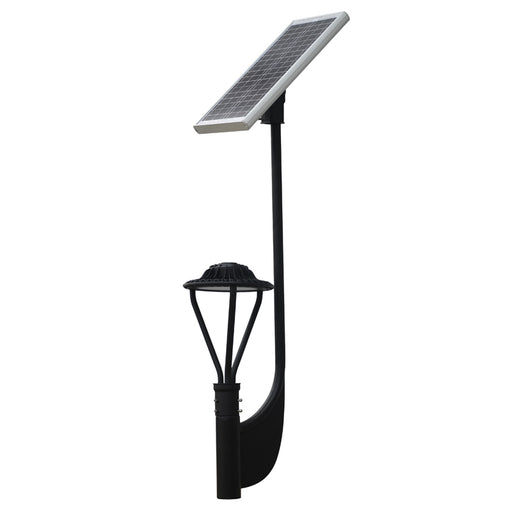 30W 3900 Lumens Solar Post Top LED Area Light