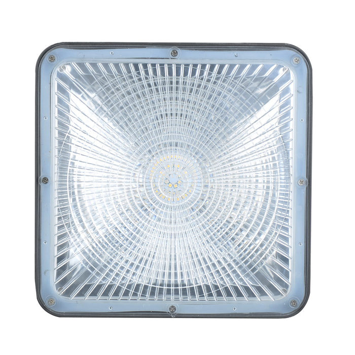 60W 7200 Lumens LED Canopy Light Fixtures