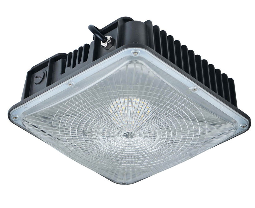 50W LED Canopy Light Fixture 5000K 6300LM