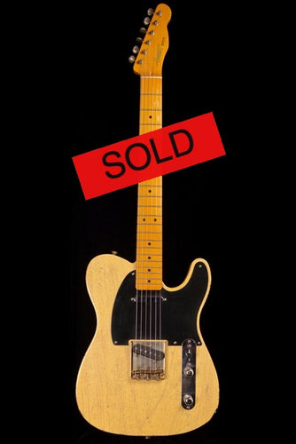(#031) See-Thru Blonde Finger-Style - Homer T Guitar Co