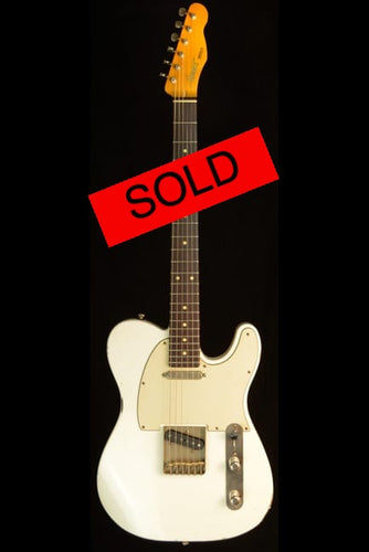 (#054) Olympic White - Homer T Guitar Co