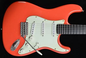 (#019) Faded Fiesta Red - Homer T Guitar Co