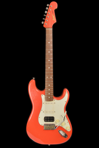 (#045) Fiesta Red - Homer T Guitar Co