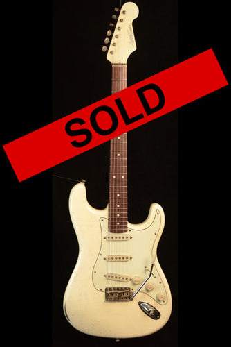 (#060) Olympic White - Homer T Guitar Co
