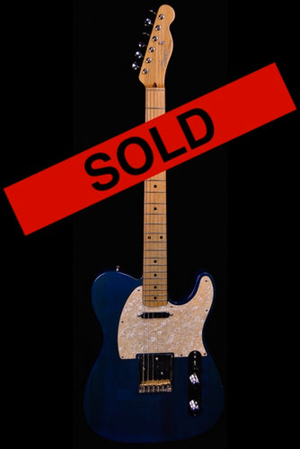 (#023) Trans Blue - Homer T Guitar Co