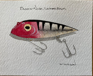 Lyman Lures - new design release - Bloody Nose Ladderback