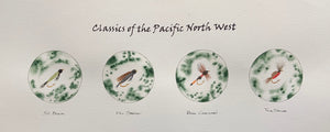 "Classics of the Pacific North West 8""h X 18""w"