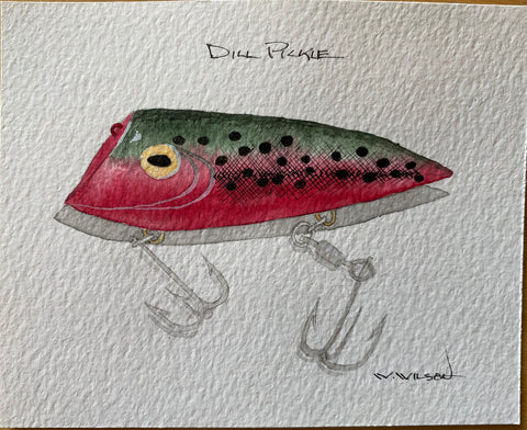 Lyman Lures - new design release - Dill Pickle