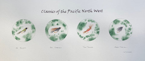 FEATURE ITEM - Coming soon! Classics of the Pacific North West - Fly Patterns