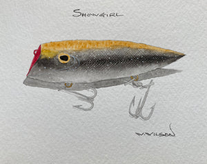 Lyman Lures - new design release - Showgirl