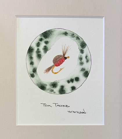 "Tom Thumb - Red 4""w X 5""h"