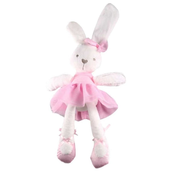 Baby Boutique Nursery Decor Baby Shower Gift Stuffed Ballerina Bunny | stuffed animal baby nursery decor