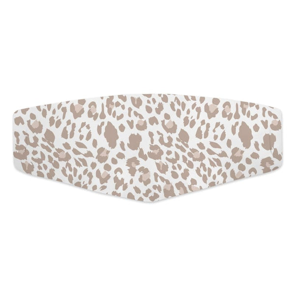 Cute Face Mask Fashion Boutique COVID-19 Washable Fabric Safari Leopard Animal Print Face Cover | Face Mask