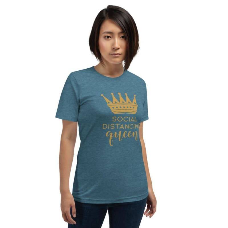 Fashion Boutique COVID-19 Social Distancing Queen Tee | T-shirt