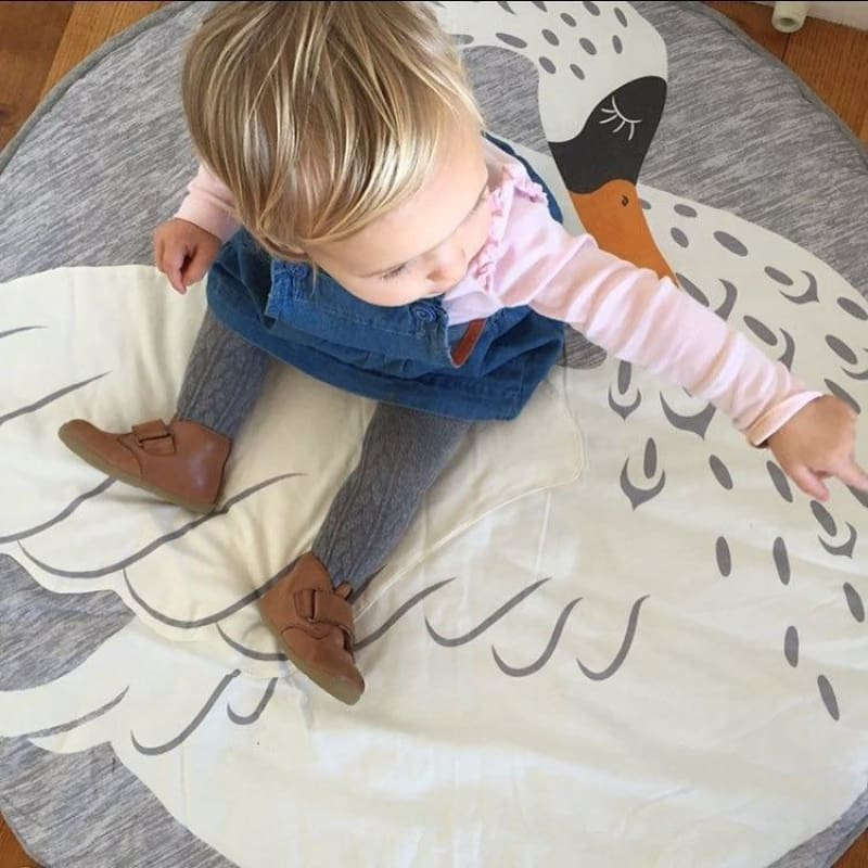 Infant Baby Toddler Play Mat Animal Unicorn Rabbit Giraffe Swan | Infant Play Mat